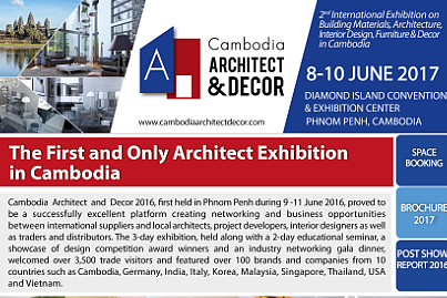 The First and Only Architect Exhibition in Cambodia
