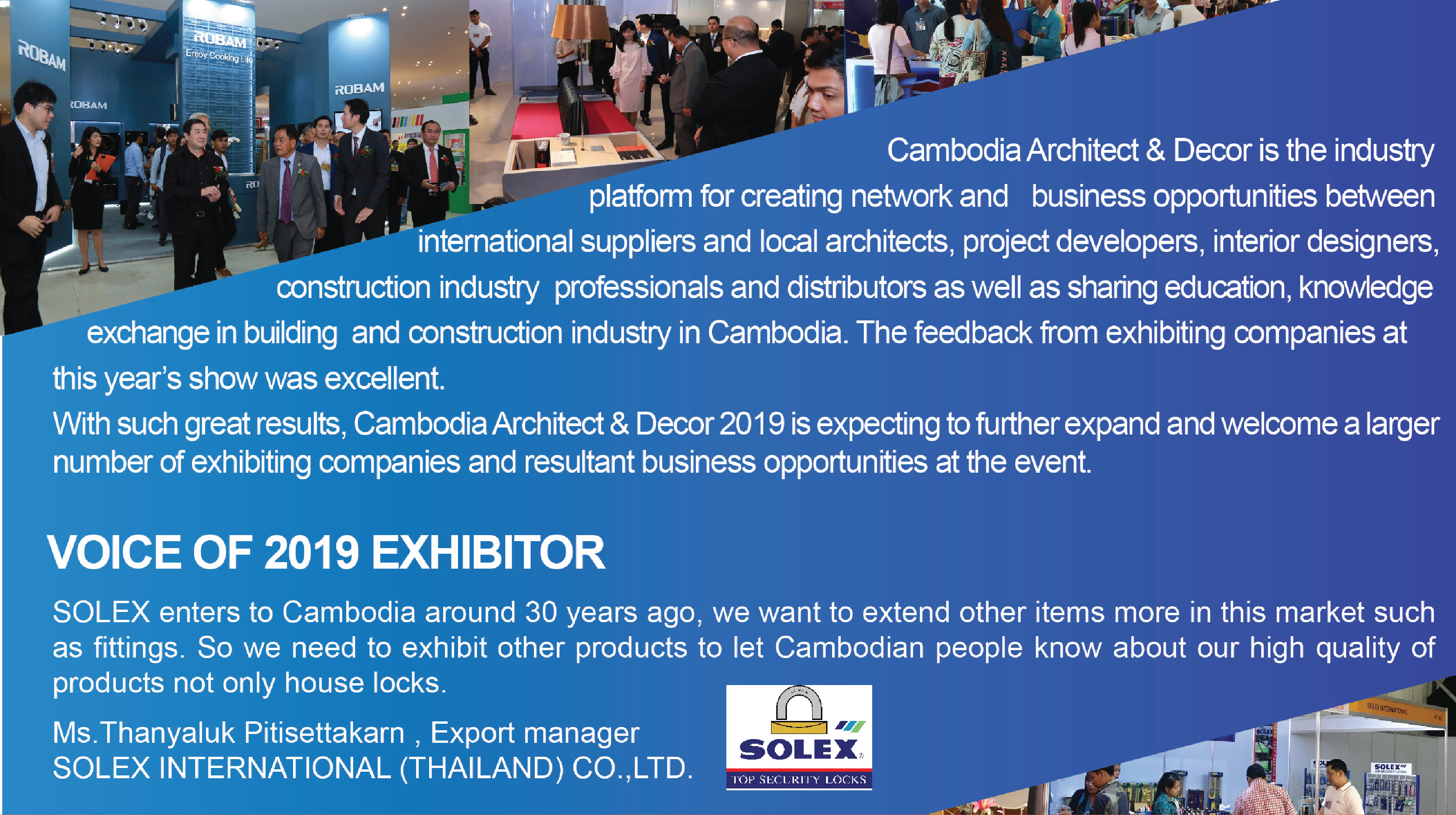 The 4th International Exhibition on Building Materials, Architecture and Decor