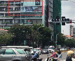 Billboard-Banner-Lamp post at Heart of Phnom Penh